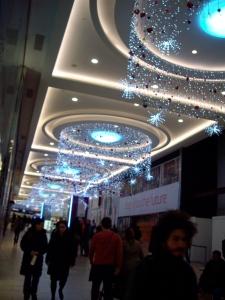Christmas decorations Eldon Square, Newcastle