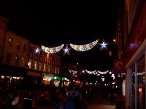 Christmas lights Newcastle
